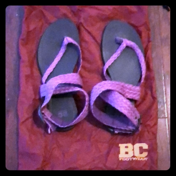 BC Footwear Shoes - BC Footwear Woven sandals